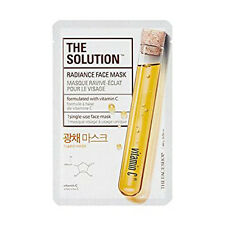 [The Face Shop] The Solution  Radiance Face Mask 3pcs / 2.1oz