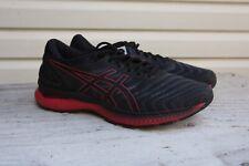 Asics Gel Nimbus 22 Black Classic Red Men Running Shoes Sneakers Fitness