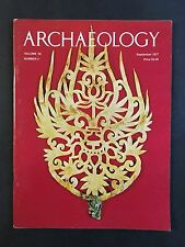 Archaeology Magazine September 1977 Volume 30 Number 5