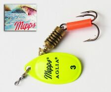 Cuiller Mepps Aglia Chartreuse T 3 Original Spinner Cucchiaini 60 mm 6,5 grs
