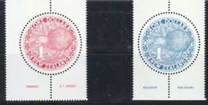 """NEW ZEALAND, """"BIRDS OF NEW ZEALAND"""" $1.00 X 2 STAMP SETS MINT NH FRESH CONDITION"""