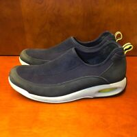 Cole Haan Country Men's Black and Blue SuedeSlip On Loafer Mesh Size 9 M