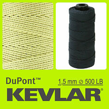 KEVLAR DuPont YELLOW 500 LB 1.5 mm 100 FT 30 M LINE BRAIDED WIRE KITE FISHING
