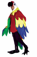 Parrot Bird Mascot Animal Adult Costume Multi Colored Body With Large Wings