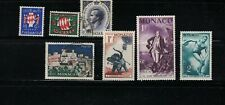SMALL LOT OF STAMPS FROM MONACO