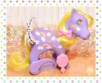 ❤️My Little Pony MLP G1 Vtg Twice as Fancy TAF Merriweather Rainbows & COMB❤️