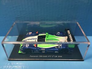 Spark 1/43 24H Lemans Pescarolo C60 2nd 2006