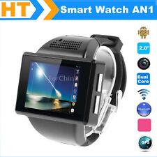 """2.0""""Touch Screen Bluetooth Smart Watch Dual Core CPU Camera GPS WiFi watch phone"""