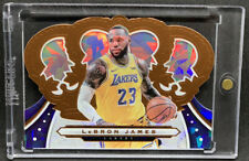 2019-20 Panini Crown Royale Bronze Cracked Ice #68 Lebron James PSA BGS Laker