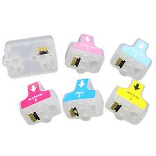 Refillable Cartridge for HP02 Photosmart D6160 D7145 D7155 D7160 D7345 Printer