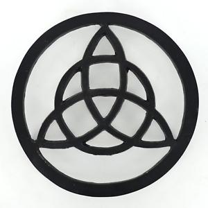 Cast Iron Trivet Triquetra Homeware Kitchen Witch Magic Accessory Wicca 40181