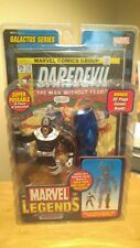 Bullseye Marvel Legends figure; Toy Biz  MIP MOC ; Galactus leg BAF; Daredevil