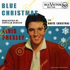Elvis Presley Blue Christmas/White Christmas Uk 7 Inch 45 SLEEVE ONLY