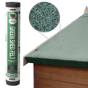 IKO Shed Felt   Green 10m x 1m   Garden Roofing Felt Bitumen Roof Sheet