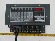 7 Day Programmable Timing Controller 10A Contacts 120V 60Hz 1A Energy Shear T