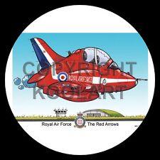 Koolart 4x4 4 x 4 Spare Wheel Graphic Raf Red Arrows Sticker 3052