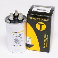 Titanpro Trcd304 Hvac Round Dual Motor Run Capacitor 304 Mfduf 370 Volts