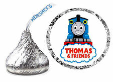 216 THOMAS THE TRAIN BIRTHDAY PARTY FAVORS HERSHEY KISS LABELS