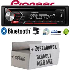 Autoradio Radio Pioneer für Renault Megane & Scenic 1 | Bluetooth USB  Einbauset