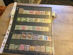 Malaya/malaysia Mixed Stamps Lot
