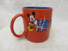 Disney 3D Ceramic Coffee Mug Cup Walt Disney World 1971 Magic Kingdom