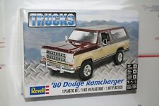 Revell 1980 Dodge Ramcharger  Plastic Model Kit New in Sealed Box 1/24 Scale