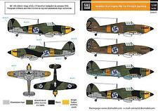 SBS Model 1/48 Hawker Hurricane MK. I.  in Finnish service decal sheet D48011