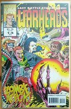 WARHEADS #14 (MARVEL Comics) Comic Book - VF
