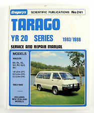 Toyota Tarago YR20 1983/88 workshop manual never used