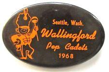 1968 WALLINGFORD PEP CADETS Seattle Washington pinback button