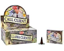 Hem Incense Cones Call Client 12 Packs = 120 Cones Free Shipping