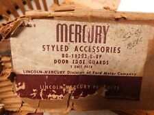 NOS 1952 1953 1954 MERCURY 4 DOOR FACTORY NEW ORIGINAL DOOR EDGE GUARDS SET NOS