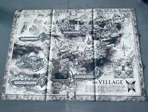 Resident Evil 8 Village Collector's Edition Cloth Map, Banner Poster (Z Edition)