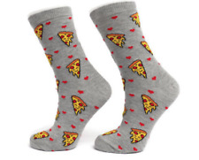 Ladies Womens Pizza Design Funky Socks