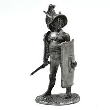 Tin Miniature 54mm Gladiator Murmillo 1:32 Scale Figurine