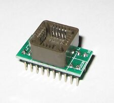PLCC20 to DIP20 ADAPTER | SUPPORTS MOST PROGRAMMERS GQ-4X, CHIP PROG, TL866