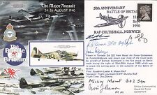 RAFA10 Battle of Britain Major Assault Signed 4 Battle of Britain,Pilots,Crew,W