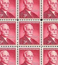 1955 - ANDREW MELLON - #1072 Full Mint -MNH- Sheet of 70 Postage Stamps