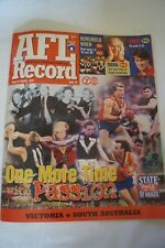 AFL-VFL -Footy Record-1999 - State of Origin Issue - One More Time with Passion