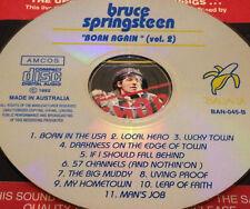 Bruce Springsteen Born Again (Vol. 2) Aust Live CD Super Rare In The USA Hero