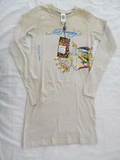 "New Girl's Ed Hardy Tan T-Shirt Dress ""Queen of Glory"" - Size L - NWT"