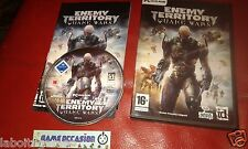 QUAKE WARS ENEMY TERRITORY PC CD-ROM PAL