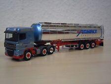 "HERPA-DAF xf105 SC Chromtank-Semi-remorque ""Transporteur Prolongée"" - Nº 155779 - 1:87"