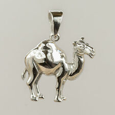 CAMEL PENDANT SOLID 925 STERLING SILVER  DROMEDARY NEW