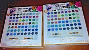 2x L.A. COLORS makeup each 65 palette eye-shadow (130 palette together)