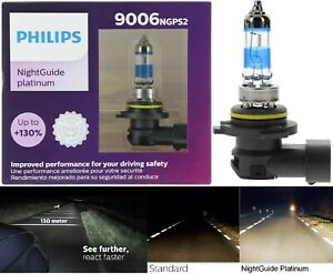 Philips Night Guide Platinum 9006 51W Two Bulbs Fog Light Replacement Upgrade OE