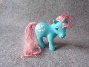 Vintage G1 My Little Pony Bowtie Figure Doll, Hasbro MLP Generation 1 Retro (1)