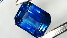 Saphir / Safir - Octagon facettiert Blau 1,07ct. 5,1x6,5mm (Box-1717A)