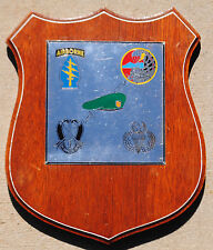 1st Generation Command and Control North (CCN) Recon Company Plaque (MAC V SOG)