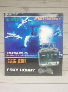 ESKY Hobby Simulator FMS Models 002203 000502 Box w/CD Rom E SKY New Open Box
